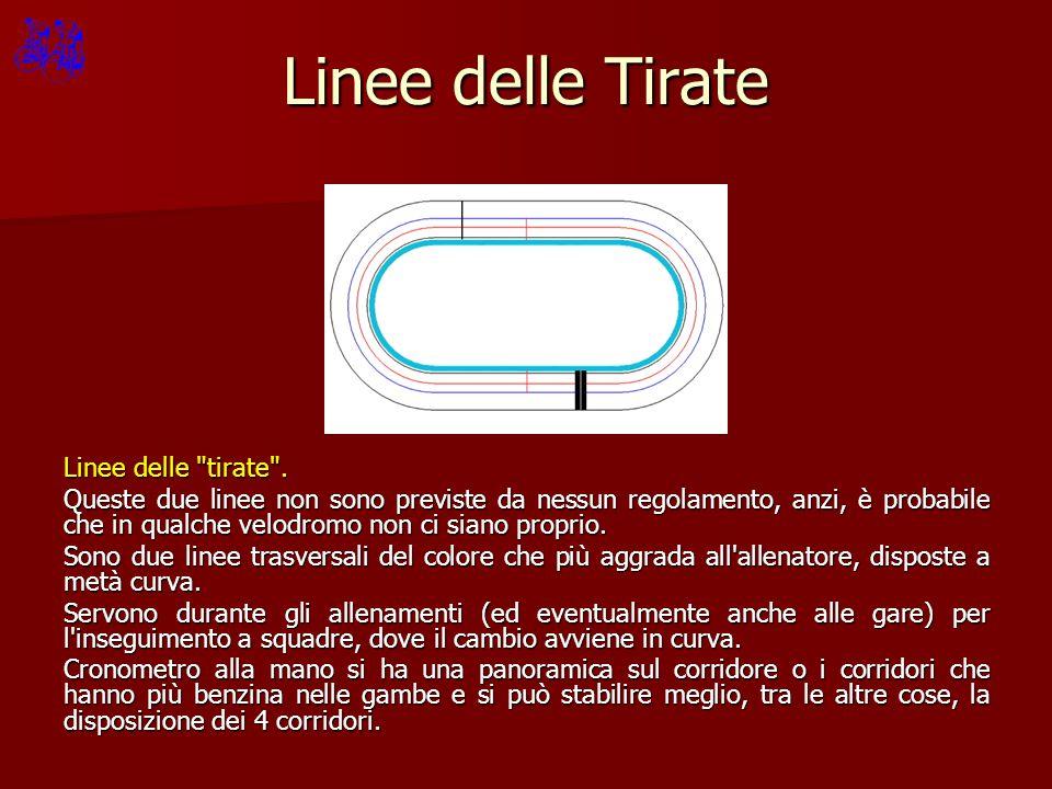 Linee delle Tirate Linee delle tirate .