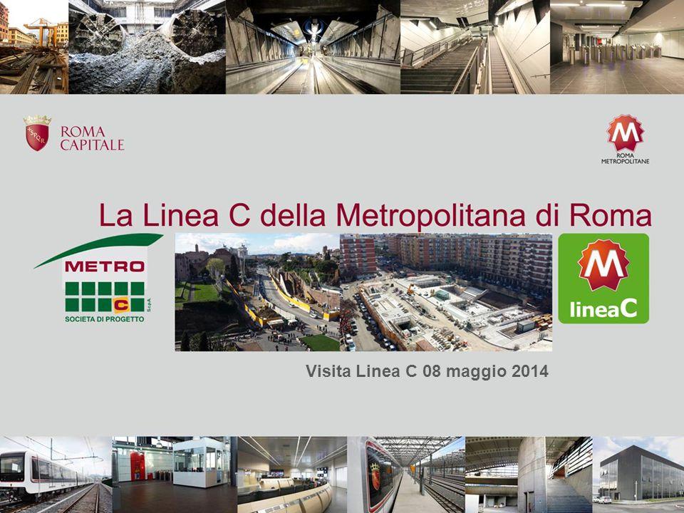 Visita Linea C 08 maggio 2014