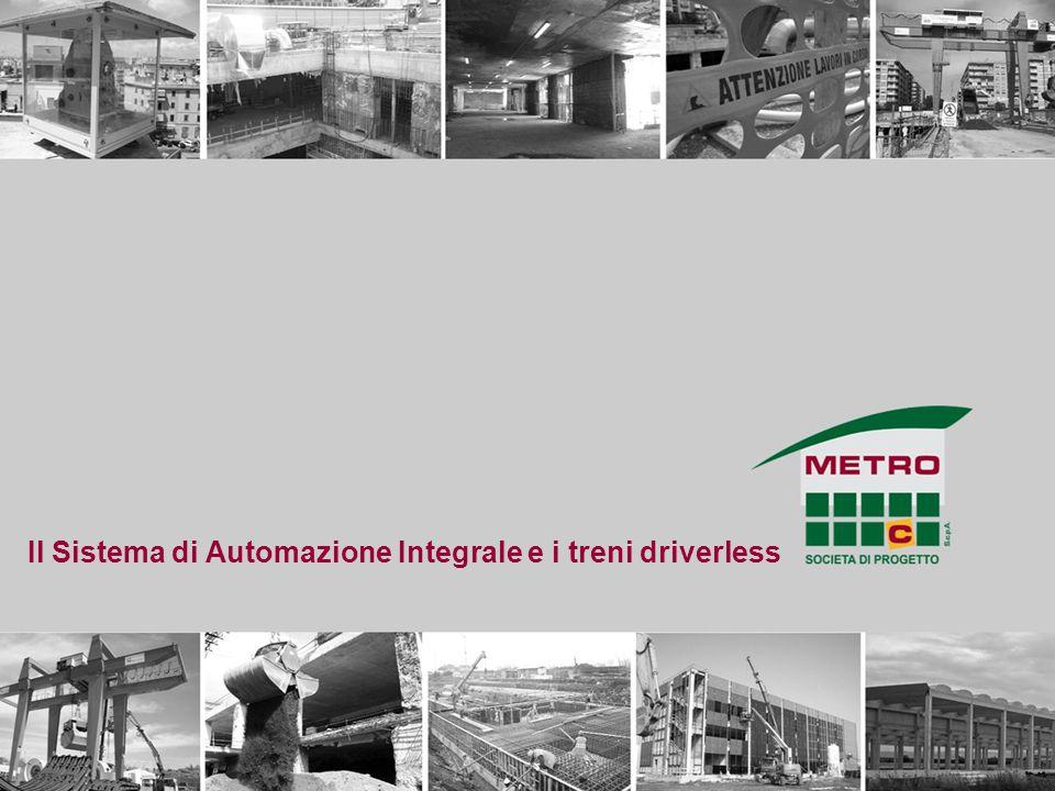 Il Sistema di Automazione Integrale e i treni driverless