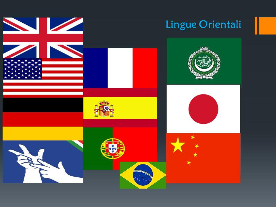 Lingue Occidentali Lingue Orientali