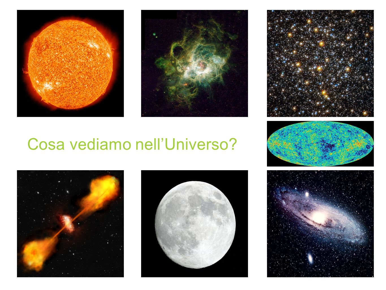 Cosa vediamo nell'Universo?