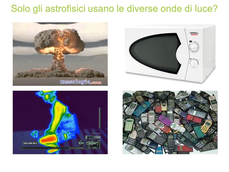 Solo gli astrofisici usano le diverse onde di luce?