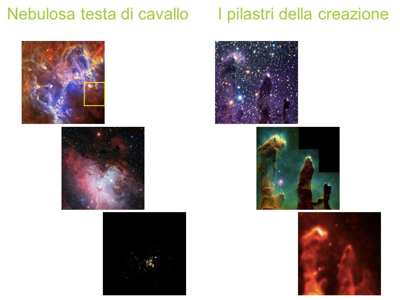 Nebulosa testa di cavalloI pilastri della creazione