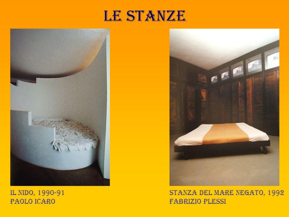 Le stanze Linea d'ombra, 1992 Michele canzoneri La stanza della terra e del Fuoco, 1996 Luigi mainolfi