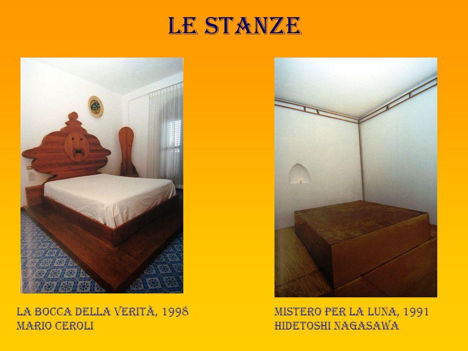 Le stanze Energia, 1992 Maurizio mochetti Su barca di carta mi imbarco, 1993 Maria lai