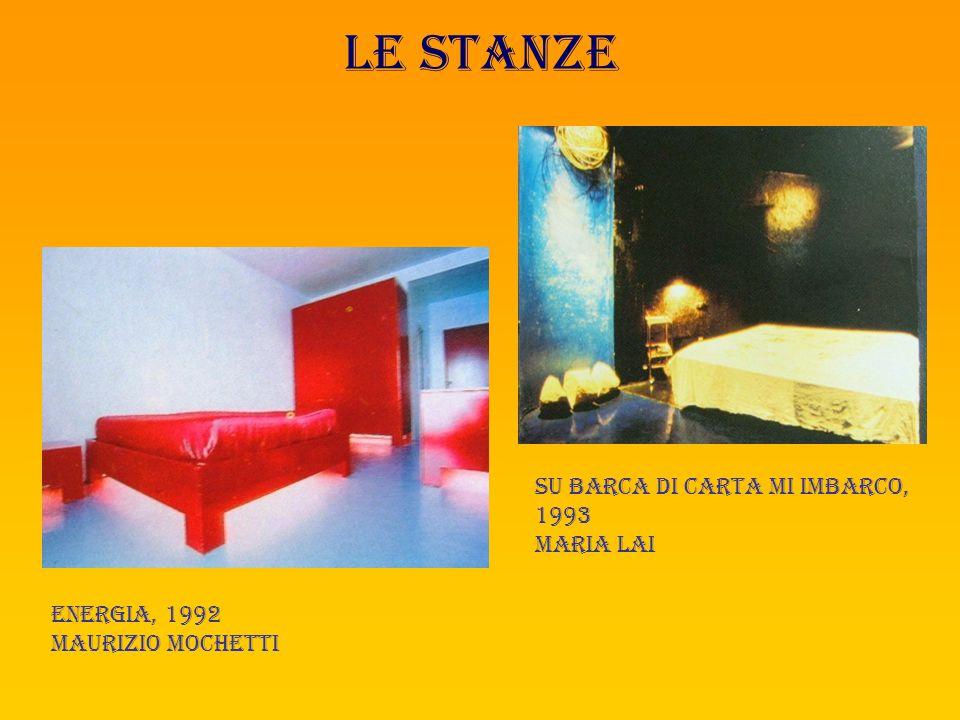 Le stanze La stanza del profeta, 1995 a.presti, d.