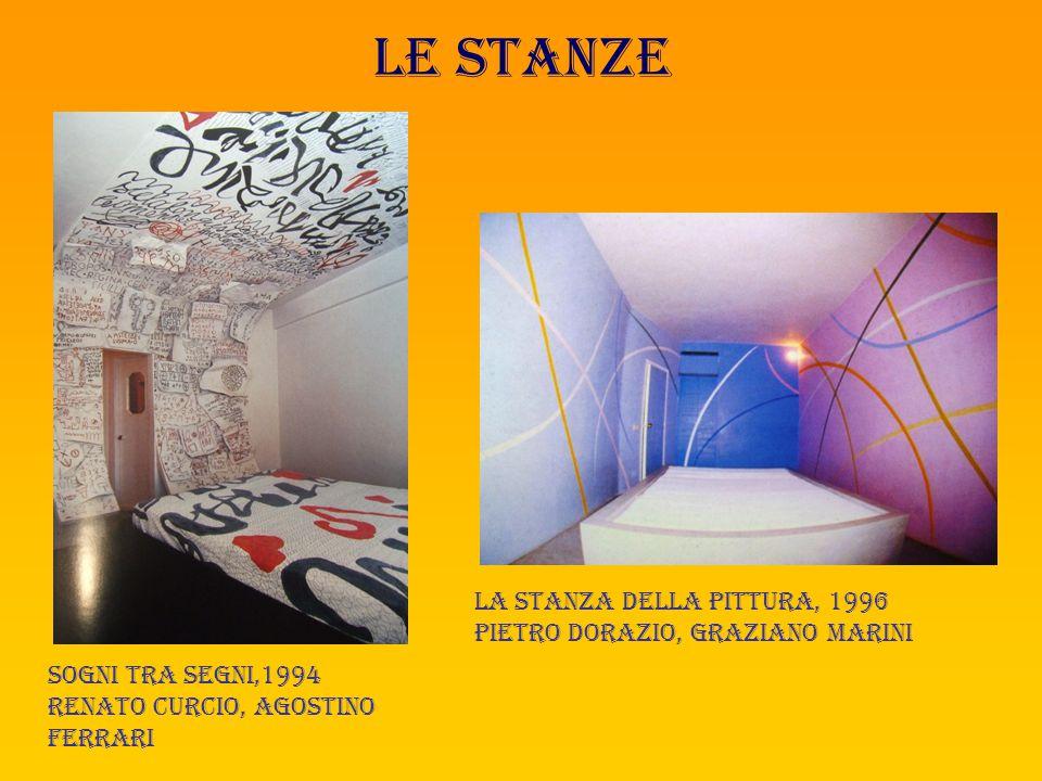 Le stanze Trinacria, 1993 Mauro staccioli