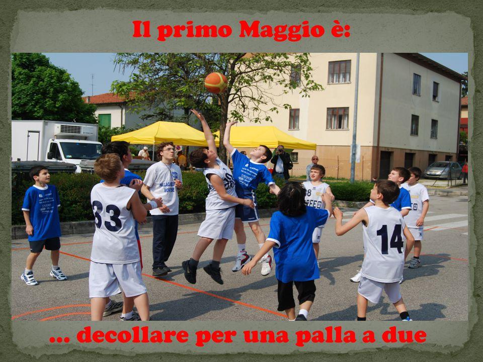 Il primo Maggio è: … decollare per una palla a due