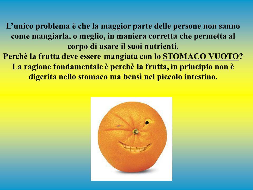 L'unico alimento che fa lavorare il tuo cervello è il glucosio. La frutta è principalmente fruttosio (che può essere trasformato facilmente in glucosi