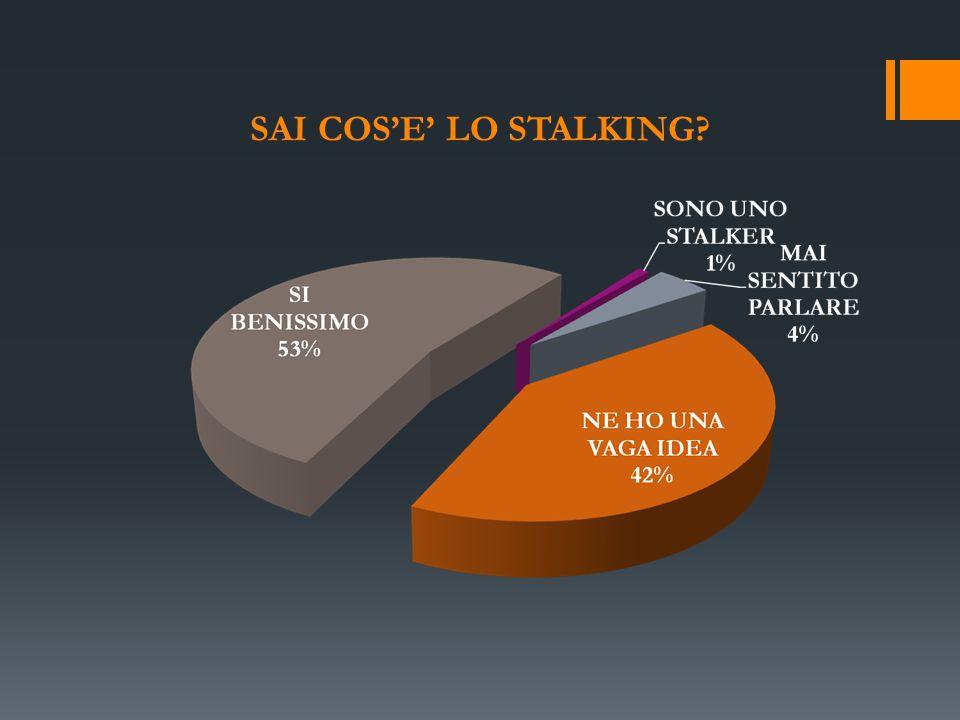 SAI COS'E' LO STALKING