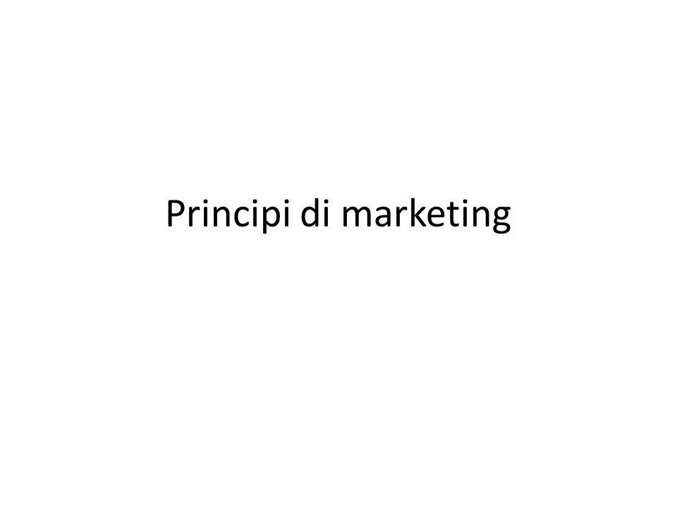 Principi di marketing