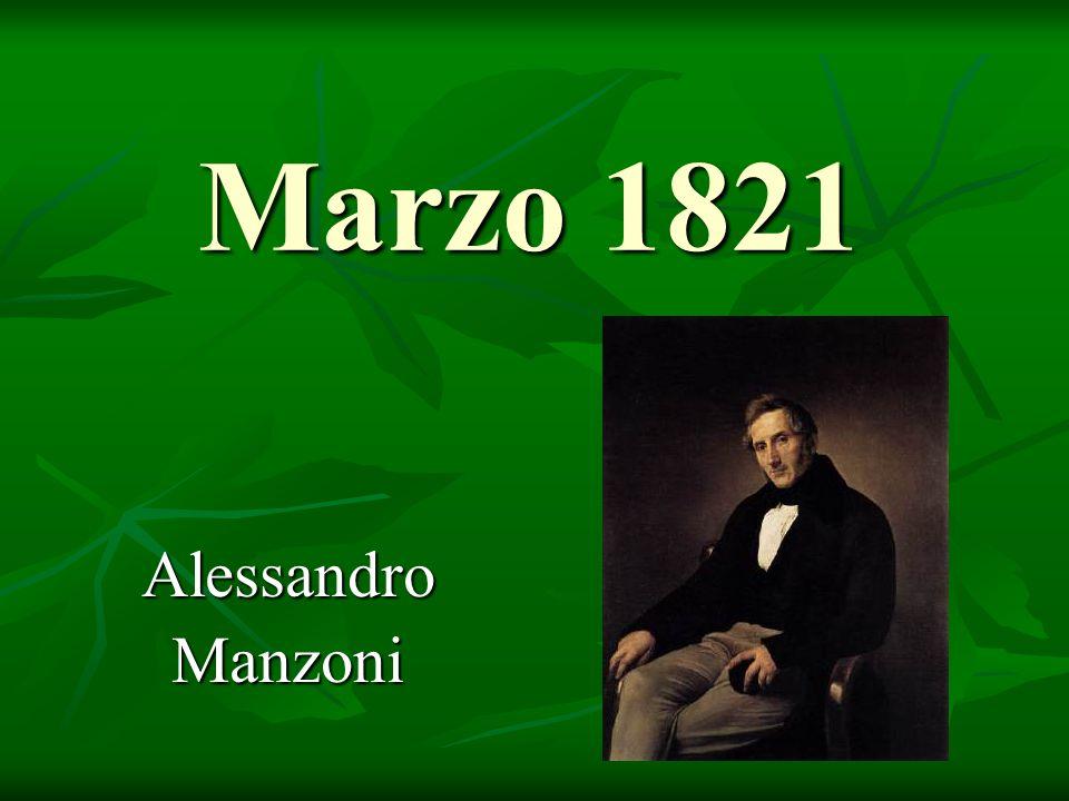 Marzo 1821 AlessandroManzoni