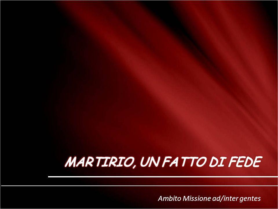 Ambito Missione ad/inter gentes