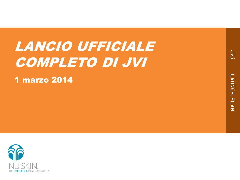JVi LAUNCH PLAN LANCIO UFFICIALE COMPLETO DI JVI 1 marzo 2014