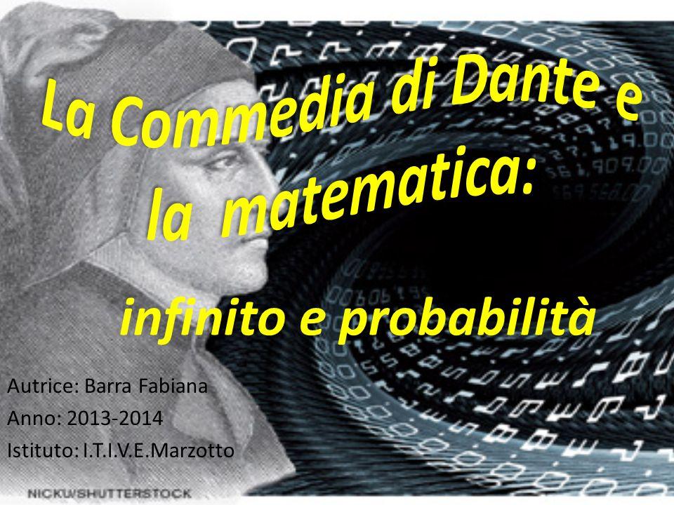 Autrice: Barra Fabiana Anno: 2013-2014 Istituto: I.T.I.V.E.Marzotto infinito e probabilità