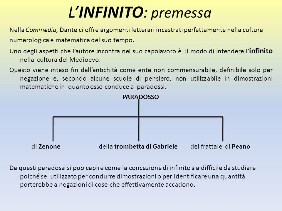 Nella Commedia, Dante ci offre argomenti letterari incastrati perfettamente nella cultura numerologica e matematica del suo tempo. Uno degli aspetti c