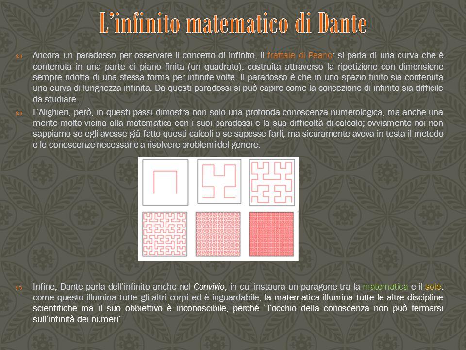  Finora si è visto come in un opera considerata emblema della letteratura italiana possano trovarsi espliciti riferimenti matematici; ora vediamo un aspetto direttamente riguardante la matematica, cioè la probabilità.
