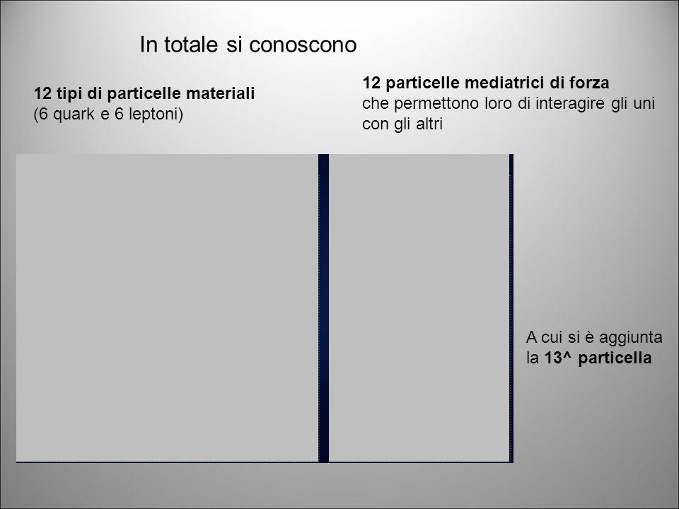 Tutte le interazioni* sono dovute al fatto che le particelle materiali si scambiano tra loro le particelle mediatrici di forza chiamate bosoni, come se giocassero a palla.