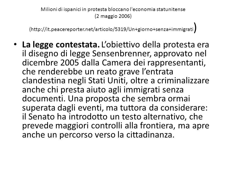 Le migrazioni in Italia - Normativa di regolazione dei flussi e provvedimenti di sanatoria Apertura delle frontiere (anni '70) e grande facilità di ingresso Politiche di adeguamento agli orientamenti restrittivi dell'UE in materia di controllo delle frontiere Progressiva emanazione di politiche di sanatoria (normative di regolarizzazione) sempre più restrittive