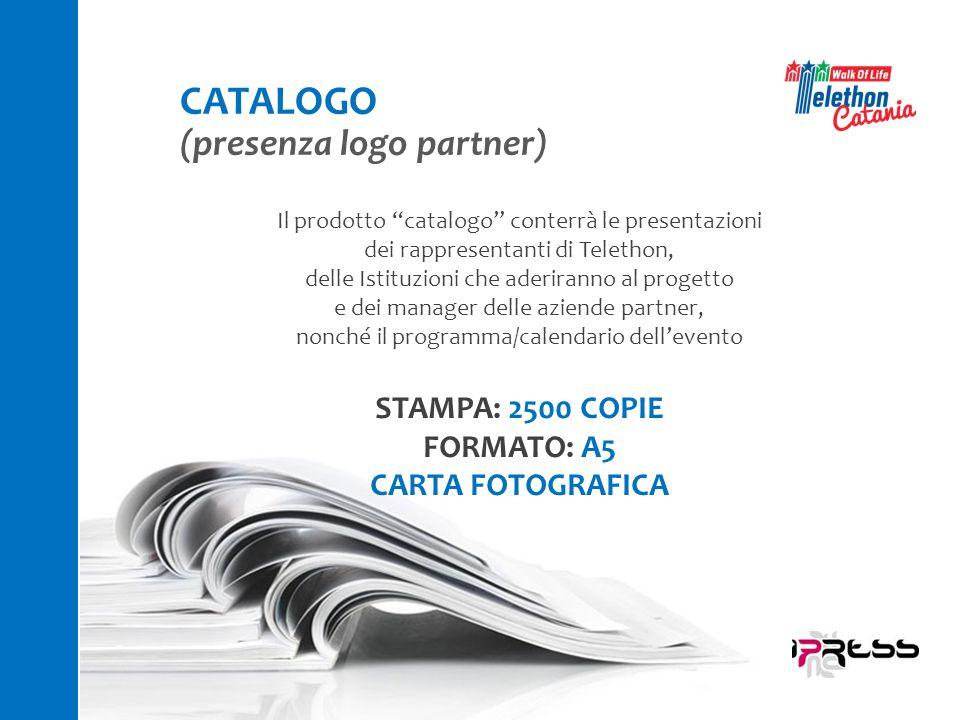 """Il prodotto """"catalogo"""" conterrà le presentazioni dei rappresentanti di Telethon, delle Istituzioni che aderiranno al progetto e dei manager delle azie"""