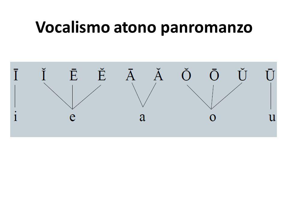 Vocalismo atono panromanzo