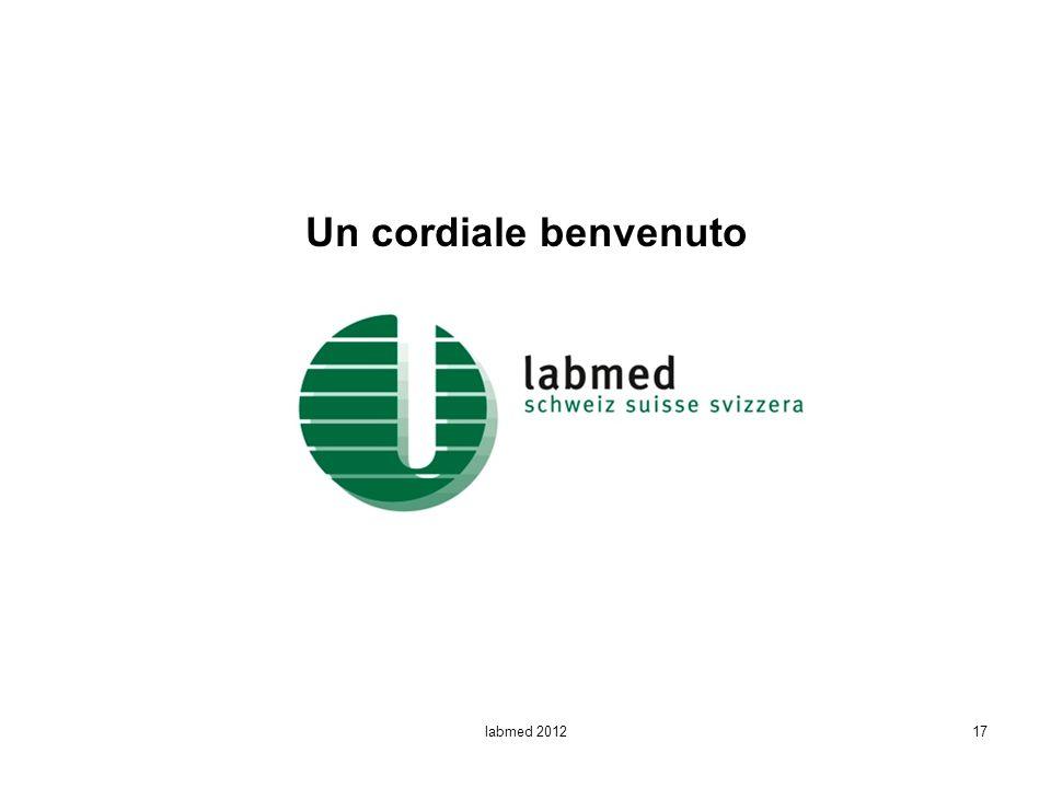 Un cordiale benvenuto labmed 201217
