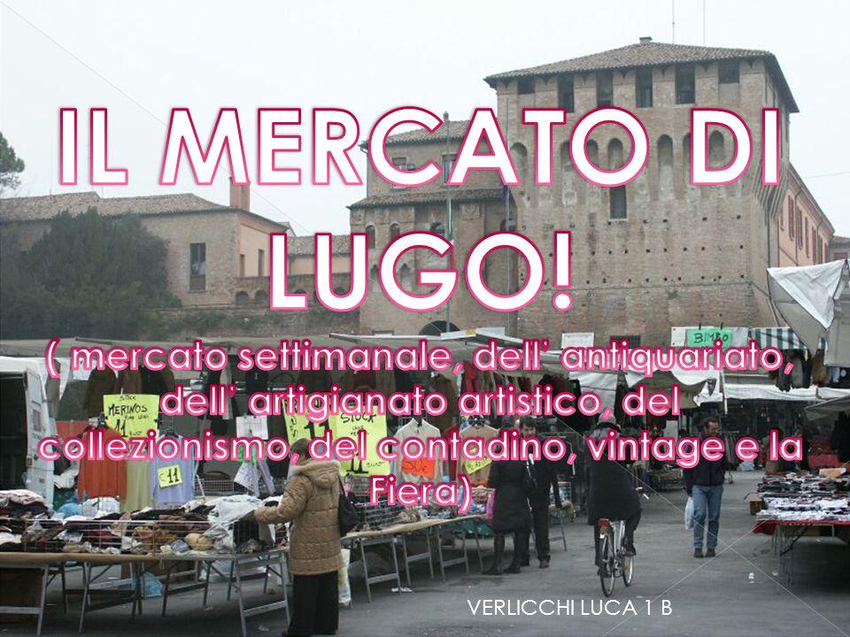 Il mercato di Lugo è uno dei mercati maggiori e più importanti della Romagna e dell' Italia fin dall'antichità.