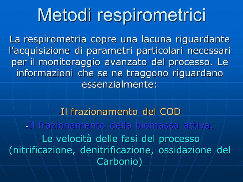 Come indica la stessa etimologia della parola, con il termine respirometria si intende la misura della respirazione di un sistema.