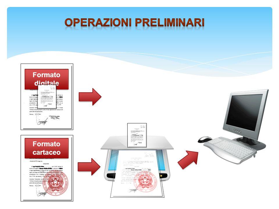7 Acquisizione Classificazione Firma Invio Monitoraggio