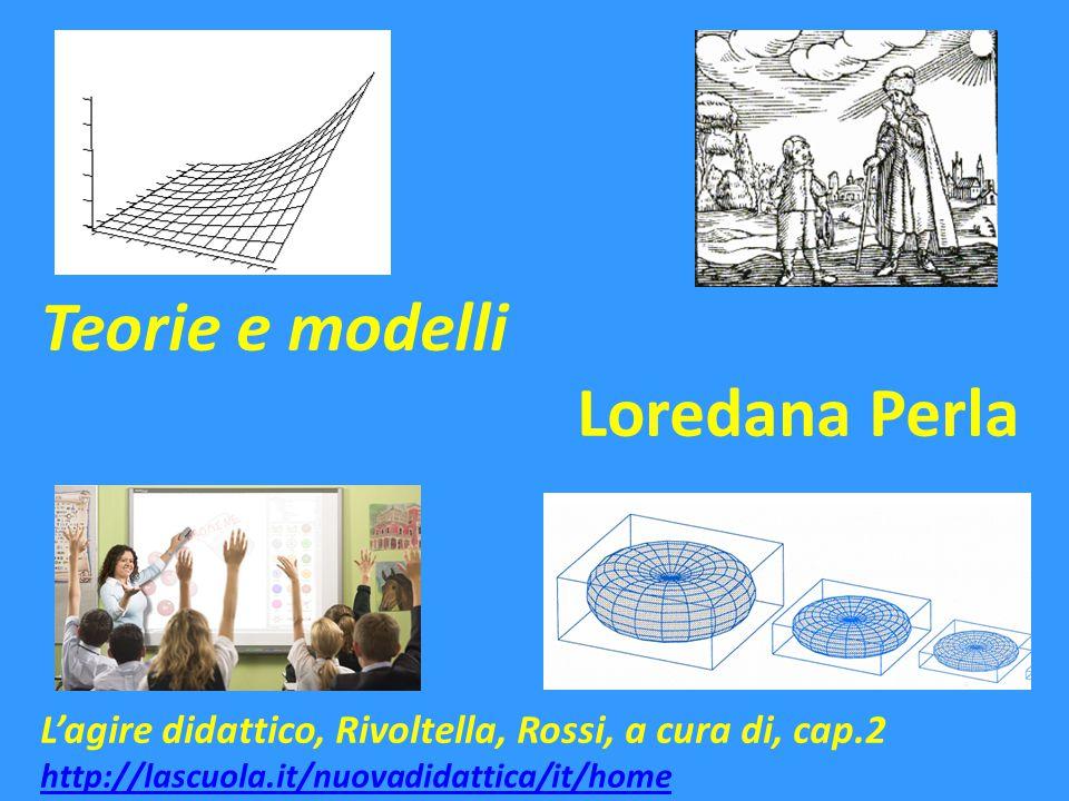 Teorie e modelli Loredana Perla L'agire didattico, Rivoltella, Rossi, a cura di, cap.2 http://lascuola.it/nuovadidattica/it/home