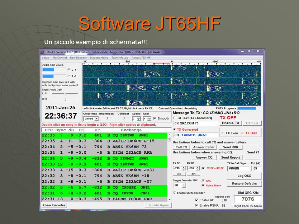 WSJT-X  WSJT - X implementa JT9, una nuova modalità progettata appositamente per le bande LF, MF e HF, così come il popolare JT65.