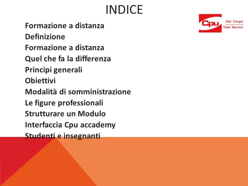 DEFINIZIONE (1/3) FAD (formazione a distanza) Apprendimento on-line