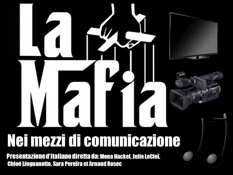 La Mafia italiana appare nella seconda metà del 19e secolo.