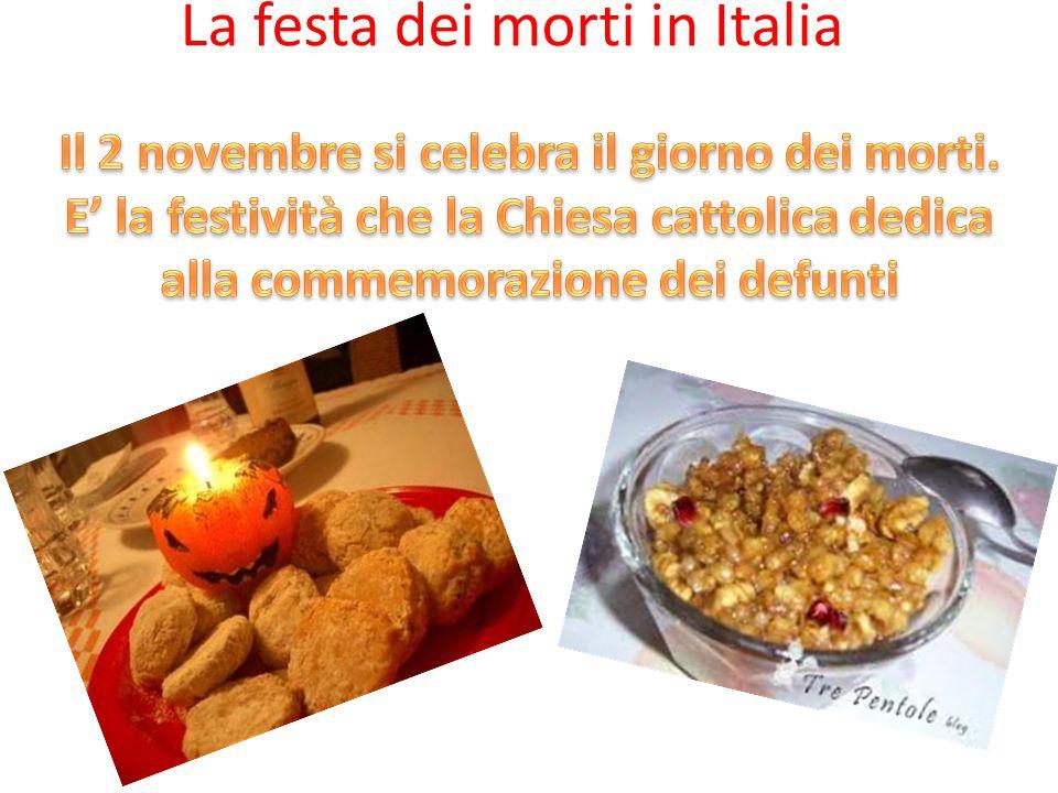La festa dei morti in Italia