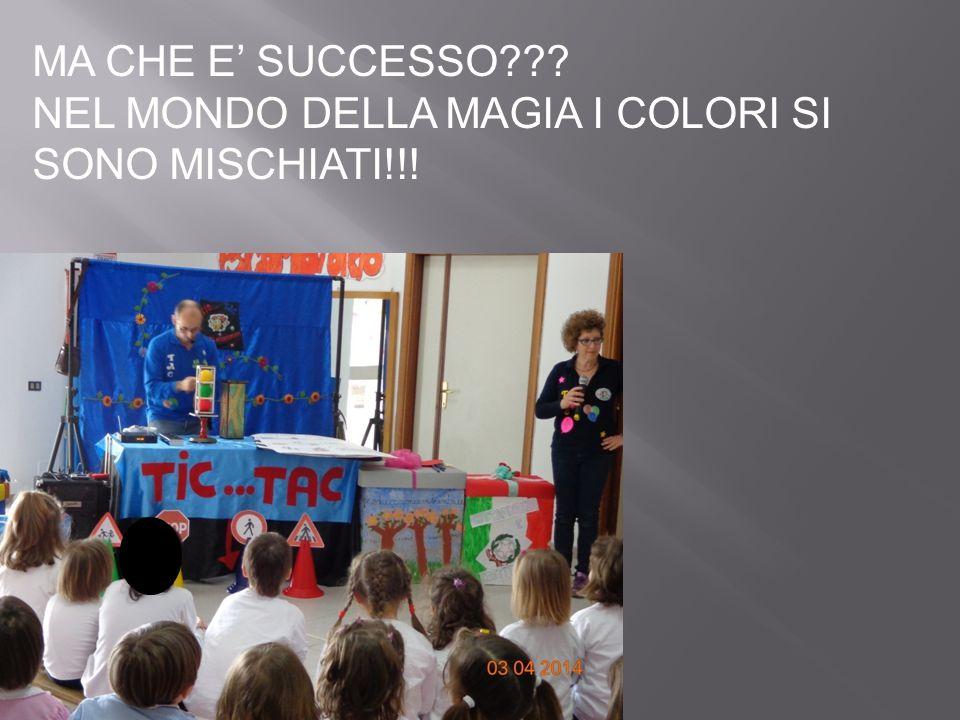 MA CHE E' SUCCESSO??? NEL MONDO DELLA MAGIA I COLORI SI SONO MISCHIATI!!!