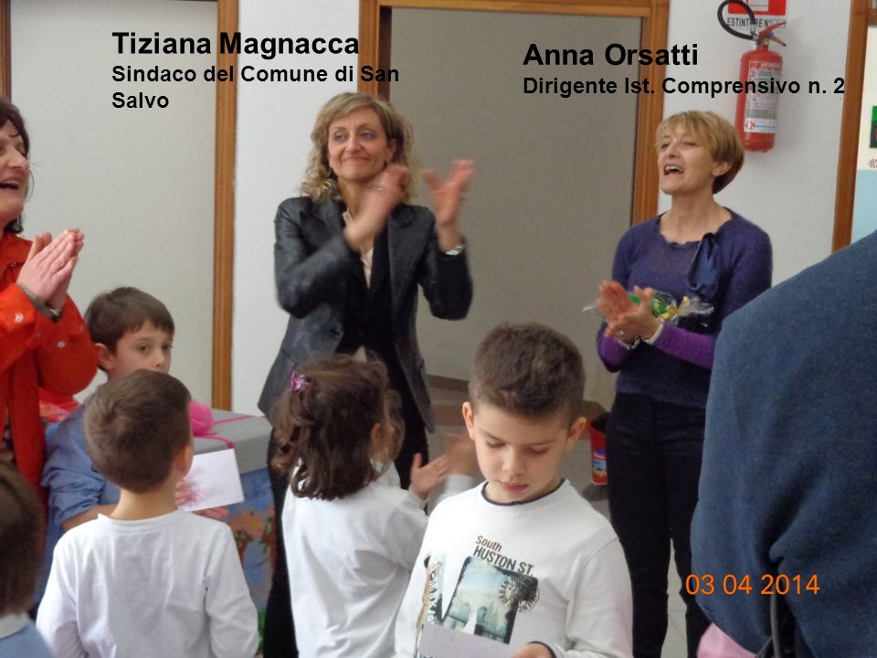 Adele Vicoli TIC Stefano Borrelli TAC Maria Travaglini, Assessore alle Politiche Sociali
