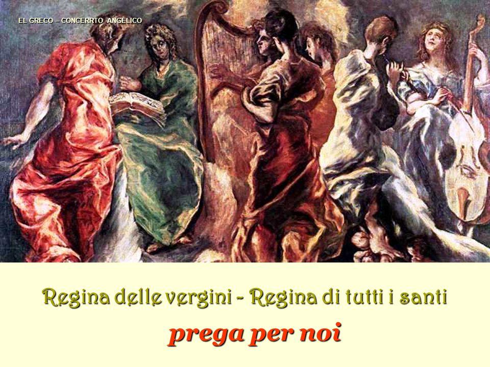 DURERO Regina degli apostoli Regina dei martiri Regina dei confessori della Chiesa prega per noi