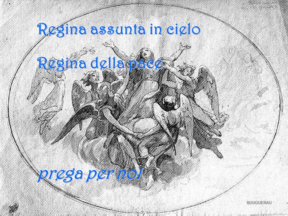 POUSSIN Regina concepita senza peccato Regina del rosario Regina della famiglia prega per noi
