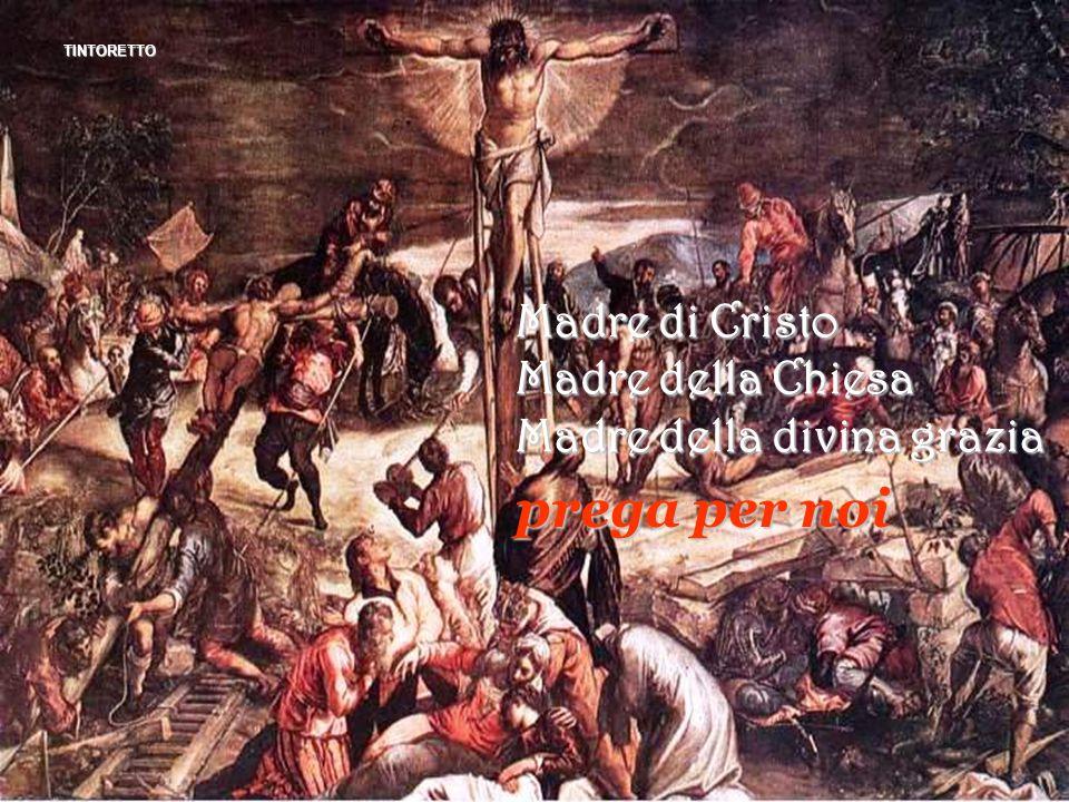 Santa Maria, Santa Madre di Dio Santa Vergine delle vergini prega per noi