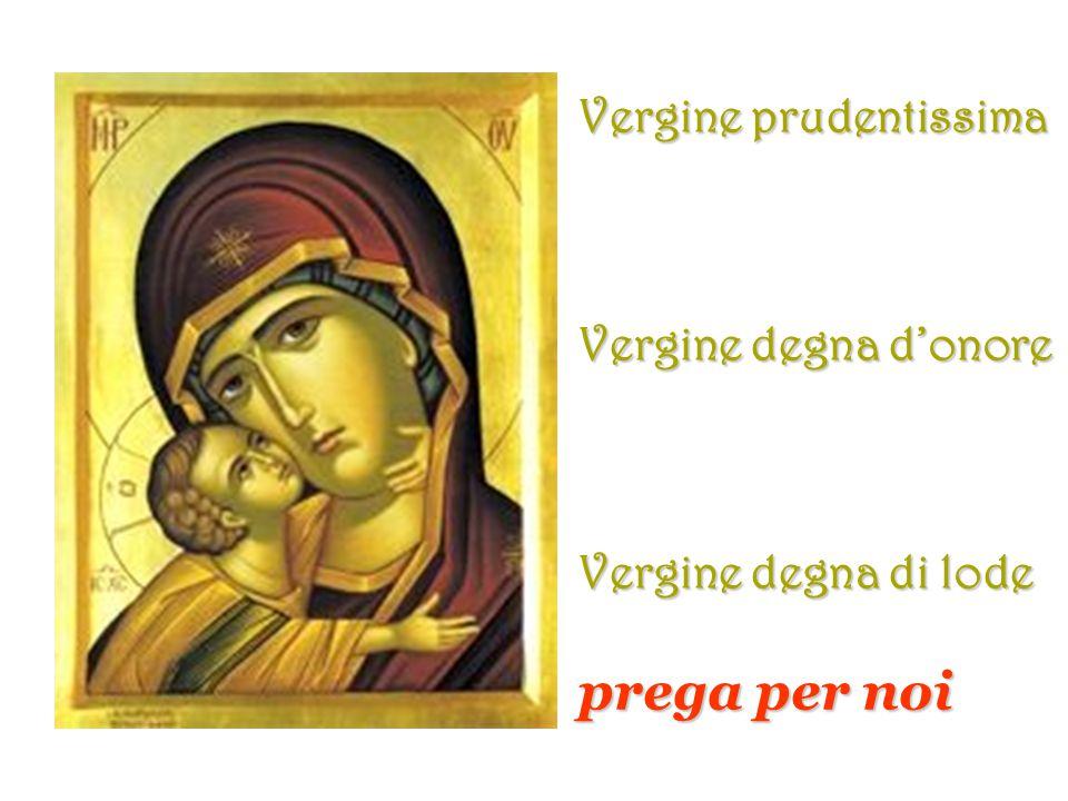 Madre del buon consiglio Madre del Creatore Madre del Salvatore MICHELANGELO prega per noi