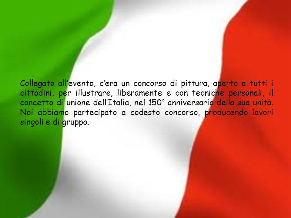 Collegato all'evento, c'era un concorso di pittura, aperto a tutti i cittadini, per illustrare, liberamente e con tecniche personali, il concetto di unione dell'Italia, nel 150° anniversario della sua unità.