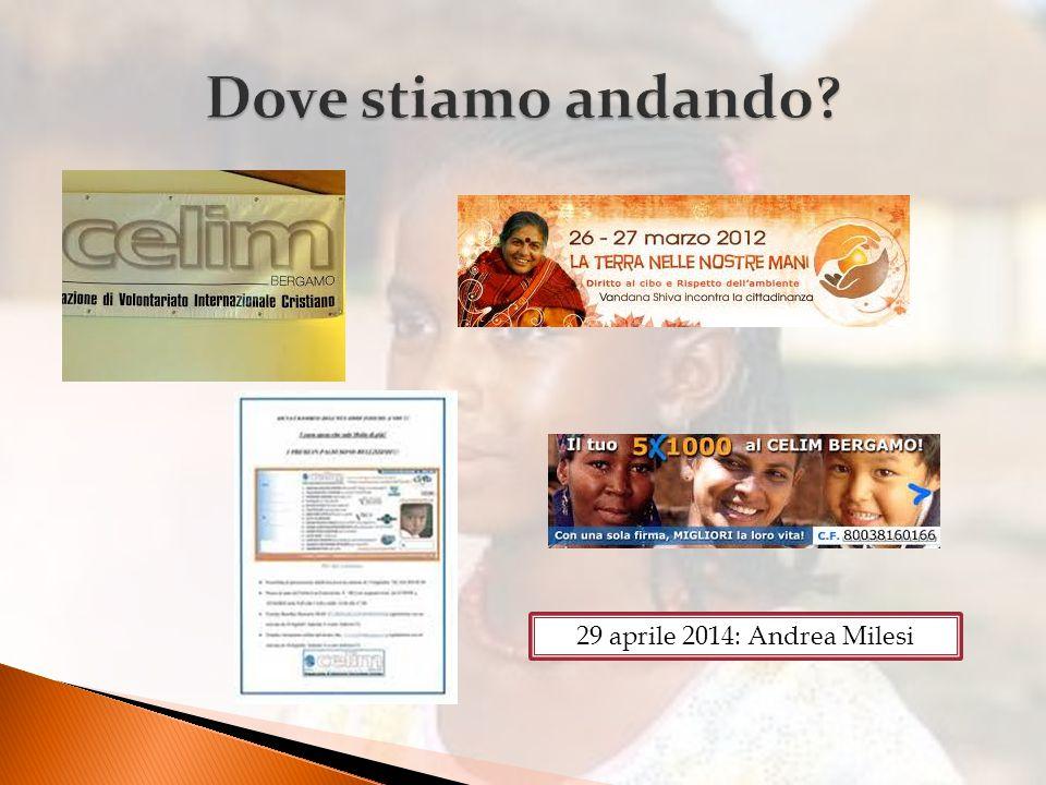 29 aprile 2014: Andrea Milesi