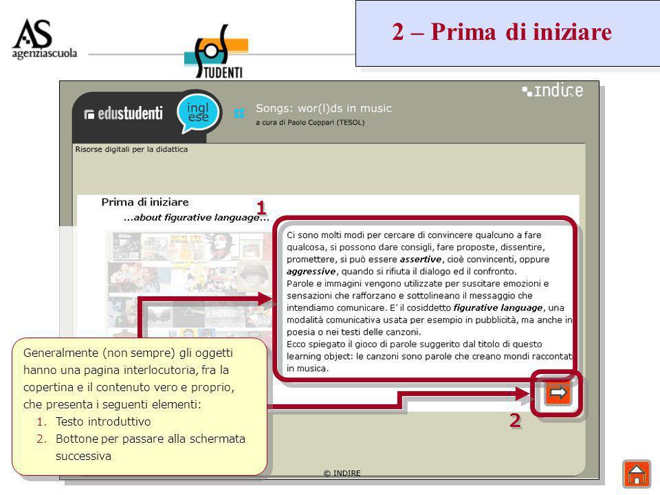 9 – Prove OCSE IL DOCENTE Le prove OCSE vengono identificate da un titolo e da una breve descrizione.