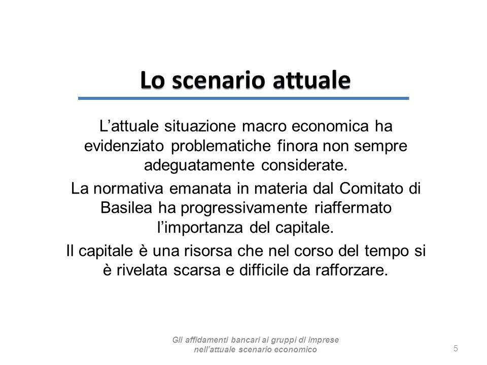 L'attuale situazione macro economica ha evidenziato problematiche finora non sempre adeguatamente considerate. La normativa emanata in materia dal Com