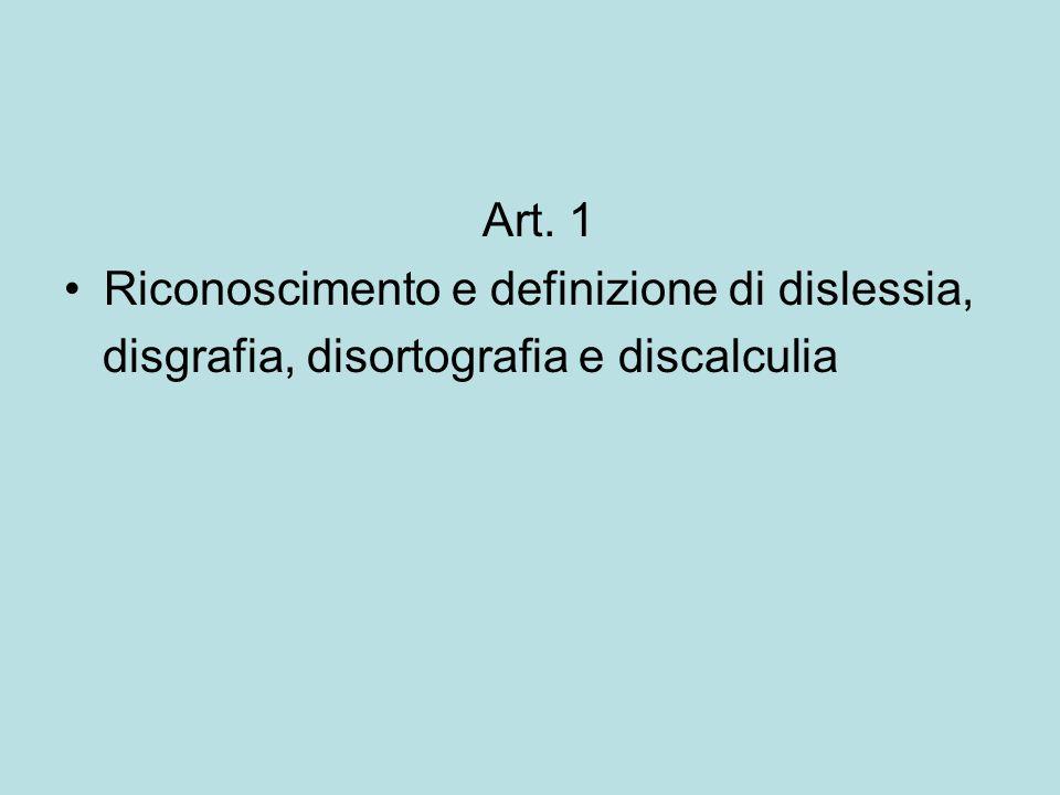 Art.2 Finalità 1.