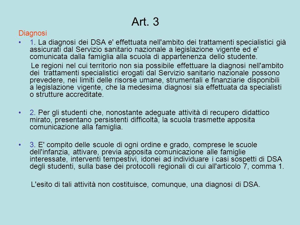 Art.4 Formazione nella scuola 1.