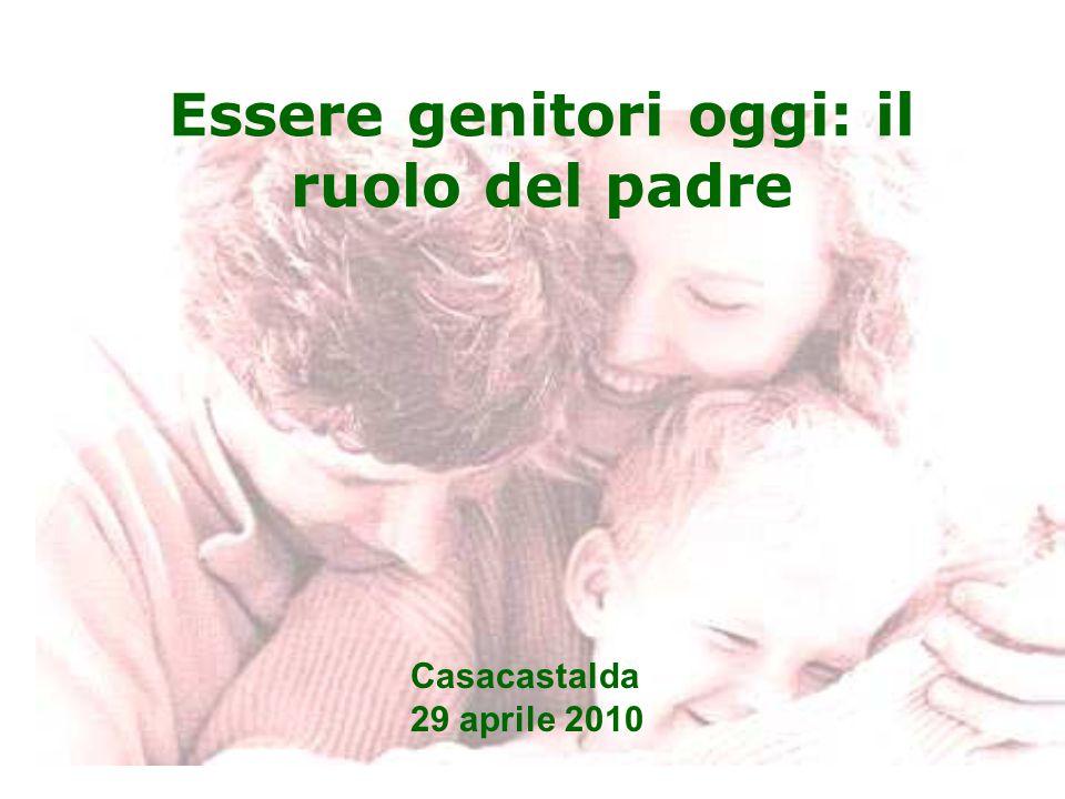 Essere genitori oggi: il ruolo del padre Casacastalda 29 aprile 2010