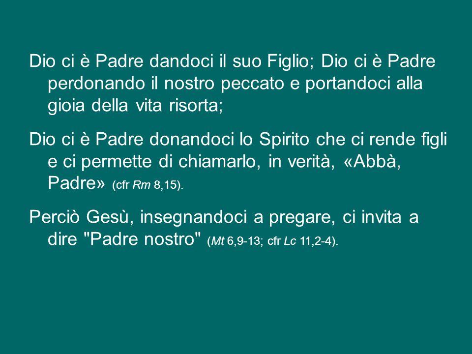 La fede in Dio Padre chiede di credere nel Figlio, sotto l'azione dello Spirito, riconoscendo nella Croce che salva lo svelarsi definitivo dell'amore