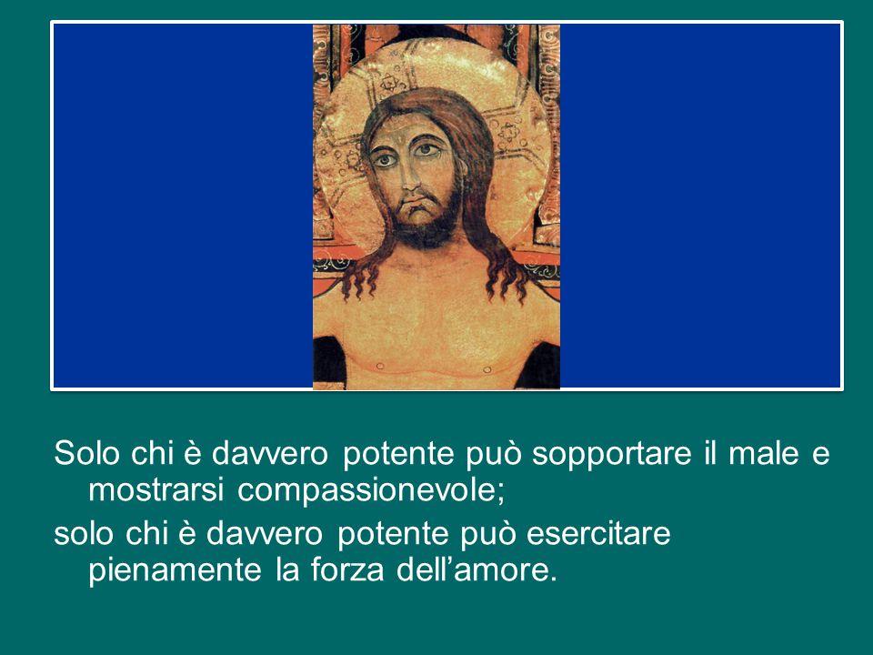 Il saggio del Libro della Sapienza così si rivolge a Dio: «Hai compassione di tutti, perché tutto puoi; chiudi gli occhi sui peccati degli uomini, asp