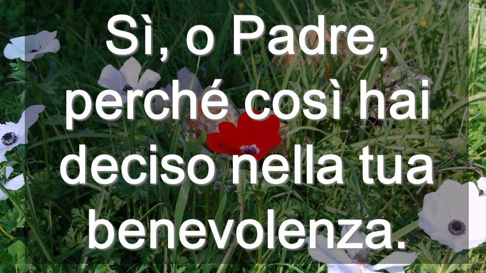 Il Padre s'avvicina agli umili A quelli che guardano in là, la piccola speranza che nasce ogni mattína (Peguy)